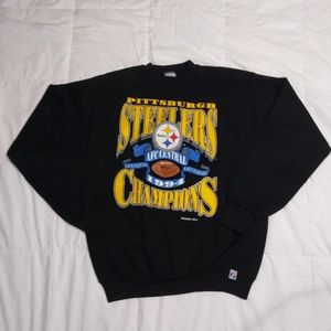 Vintage 94 Pittsburgh Steelers AFC Champs T-Shirt